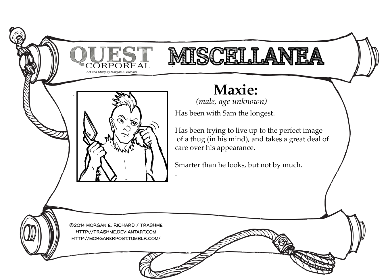 Miscellanea Corporeal: Maxie